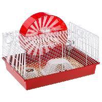 Cage FERPLAST Cage Coney Island 50x35x25 cm - Blanc - Pour hamster