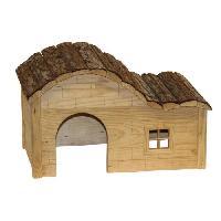 Cage KERBL Maison Nature 30x20x19cm - Pour rongeur