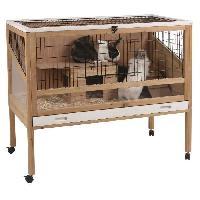 Cage Kerbl Cage de petits animaux Indoor Deluxe 115 x60 x92.5 cm Bois 82725