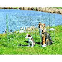 Cage TRIXIE Enclos pour chiots galvanise pour chien - Trixie Generique