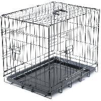 Cage VADIGRAN Cage metallique pliable Classic - 61 x 46 x 51 cm - Noir - Pour chien