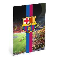 Cahier FC BARCELONA Cahier 40 feuilles A4 quadrillé - 80 pages - 10 x 10 mm - 70g - Camp nou - Aucune