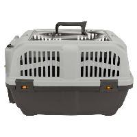 Caisse - Cage De Transport AIME Panier de transport Skudo 55x36x35cm - Pour chien et chat