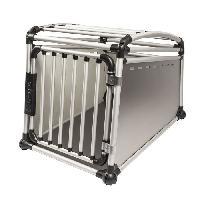 Caisse - Cage De Transport DUVO Cage de transport en alu pour voiture - 49x64x59 cm - Pour chien