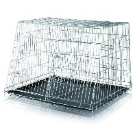Caisse - Cage De Transport Double cage de transport chien 93x68x79 cm