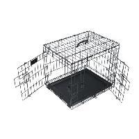 Caisse - Cage De Transport M-PETS - Caisse Voyager - Noir - M - Pour chien M Pets