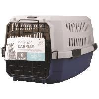 Caisse - Cage De Transport M-PETS Caisse de transport Viaggio Carrier XS - 48.3x32x25.4cm - Bleu et gris - Pour chien et chat