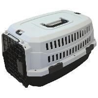 Caisse - Cage De Transport M-PETS Caisse de transport Viaggio Carrier XS - 48.3x32x25.4cm - Noir et gris - Pour chien et chat M Pets