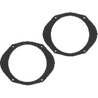 Caisson Haut-parleur Subwoofer Ampli 2 Adaptateurs HP compatible avec Bravo Marea Multipla Fiat 165mm AV Bois MDF impregnes - ADN-ENB