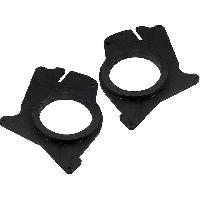 Caisson Haut-parleur Subwoofer Ampli 2 Adaptateurs HP compatible avec Espace Renault 165mm AV Bois MDF impregnes - ADN-ENB