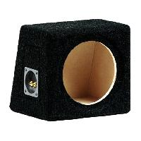 Caissons Vides Caisson vide pour haut-parleur 20cm - 27.5x 23x 25.5cm - MDF - Noir
