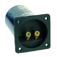 Caissons Vides Connecteur poussoir a ressort avec filtre LPF 80Hz - 20dBOct