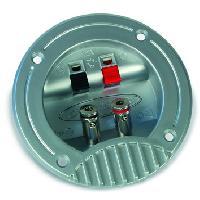 Caissons Vides Sortie haut-parleur 12V - 8cm Caliber