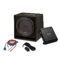 Caissons de basses Kit Alpine SBG-30KIT Subwoofer 30cm Ampli 550W