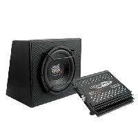Caissons de basses Pack 12P - Pack Ampli Mono 700W Max - Subwoofer 700W max Caliber