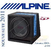 Caissons de basses SBG-1244BR - Caisson Bass Reflex 30cm - 250W RMS - Avec Sub SWG-1244 - Alpine