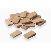 Cale - Arret - Bloqueur MEISTER 10 cales 5mm + 10 cales 10mm bois