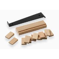 Cale - Arret - Bloqueur MEISTER Kit de pose parquet stratifie 14 pieces