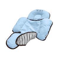 Cale Dos - Repose-tete Coussin de maintien pour bebe - Bleu
