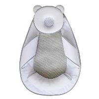 Cale Tete Siege CANDIDE Cale tete Panda Pad Air+ - Blanc et gris