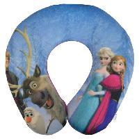 Cale Tete Siege La reine des neiges Support de cou en peluche douce