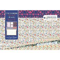 Calendrier De L'avent Calendrier 100738235 - 155 x 235 cm - 1 mois par page - Zones de Notes - Aucune