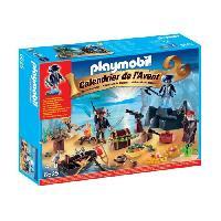 Calendrier De L'avent PLAYMOBIL 6625 Calendrier de l'Avent Ile des pirates