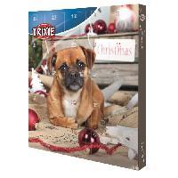 Calendrier De L'avent TRIXIE Calendrier de l Avent pour chiens - Special Noel