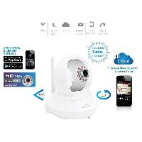 Camera Ip Bluestork Camera Cloud HD motorisee d'interieur Wi