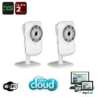 Camera Ip D-Link Camera sans fil DCS932L voyants infrarou... - Dlink