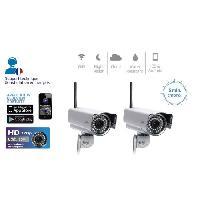 Camera Ip PACK 2 CAMERAS IP HD CLOUD WIFI VISION DE NUIT - CAMOFHD2X