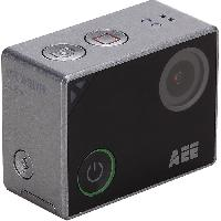 Camera Sport - Camera Frontale CAMLYFESILVER Action cam - 4KUltra HD - Wi-FiBluetooth - Ecran tactile - Angle 140degres - 16MP