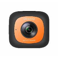 Camera Sport - Camera Frontale Camera 360degres Double Lentille VR360 Orange