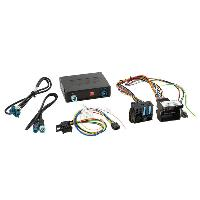 Camera de recul Adaptateur Camera AV AR avec guide stationnement pour Mercedes Generique