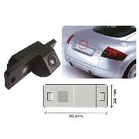 Cameras de recul Camera de recul integree pour eclairage de plaque pour AUDI TT
