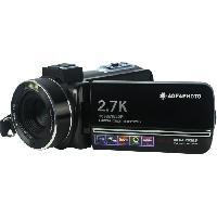 Camescope AGFA PHOTO - Camescope - CC2700 - Noir - Ecran tactile 3.0'' - 2.7K