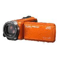 Camescope JVC GZ-R405DEU Caméscope - Etanche - Orange