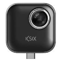 Camescope KSIX Caméra d'Immersion Totale VR 360 avec USB type C pour smartphone - Generique