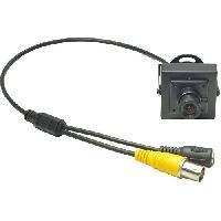 Camescope Mini Camera Monochrome CMOS 12V 20mA Espion Securite