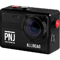 Camescope PNJ CAMALLROAD Action cam - 4K/Ultra HD - Étanche - Grand Angle 130° - 8MP