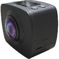 Camescope QANTIK ORBIT 360 Caméra de sport 360° - 5 mégapixels - Noir