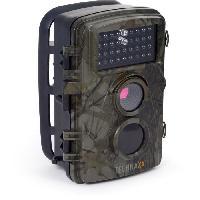 Camescope TECHNAXX Nature Wild Cam TX-69 Camera de surveillance - Interieur et exterieur - Alimentation par piles - Vert camouflage