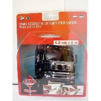 Camion Profil Adhesif Chrome 12mm - 2m - Generique