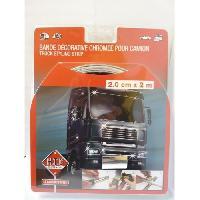 Camion Profil Adhesif Chrome 20mm - 2m - Generique