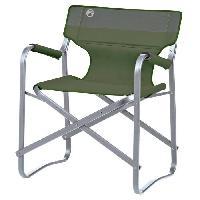 Camping - Camp De Base COLEMAN Chaise de Camping Deck - 62 x 53 x 78 cm - Vert Campingaz