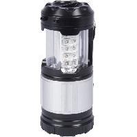 Camping - Camp De Base GRUNDIG Lanterne de camping 2 en 1 - 30 LED Aucune