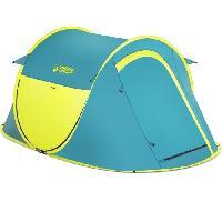 Camping - Camp De Base TENTE 2 PERSONNES COOLDOME 2 PAVILLO - 1 chambre - imperméabilité 300mm - idéal festival