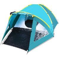 Camping - Camp De Base TENTE 3 PERSONNES ACTIVE MOUNT 3 PAVILLO - 1 chambre - imperméabilité 2000mm - idéal festival