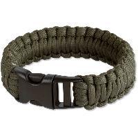 Camping - Camp De Base VIRGINIA Bracelet de survie en corde de nylon - Vert - Aucune