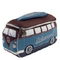 Camping & Camping-Car Sac Neoprene Vw T1 Bus 3d Petrol Maron Brisa